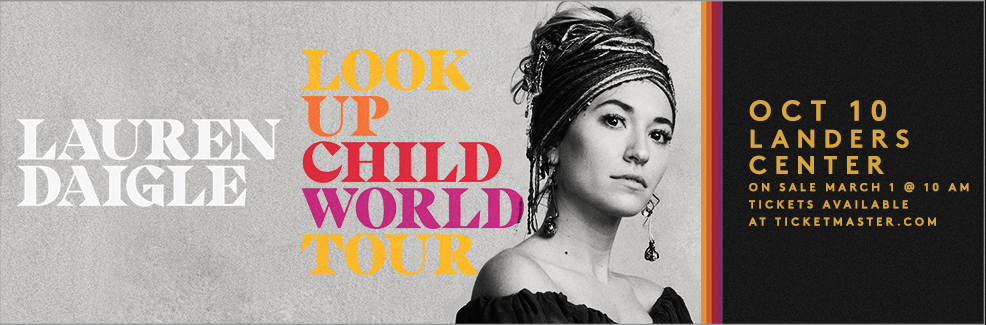 Lauren Daigle: Look Up Child Tour