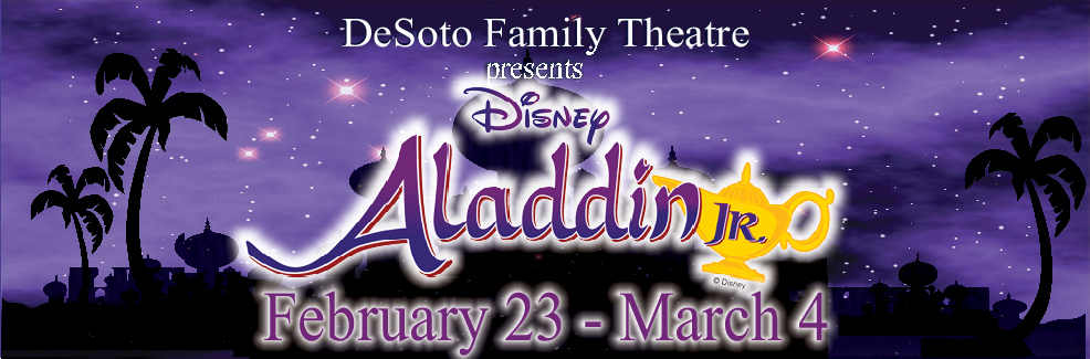 DFT PRESENTS: ALADDIN JR!
