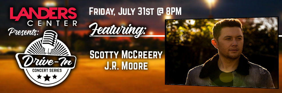 Drive-In Concert Series: Scotty McCreery