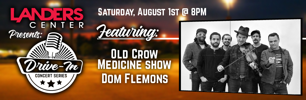 Drive-In Concert Series: Old Crow Medicine Show