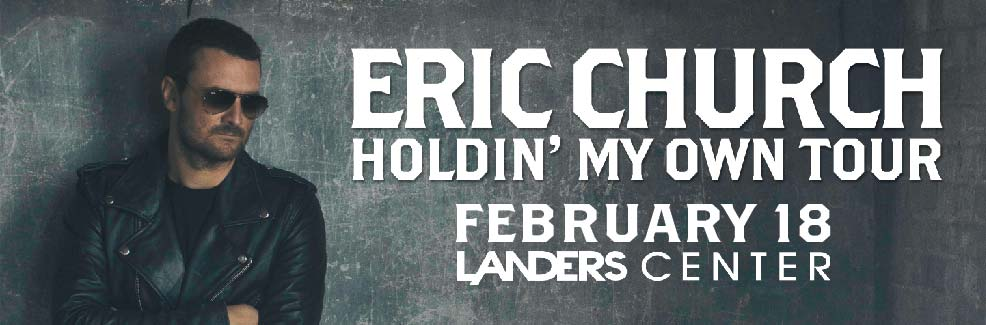 Eric Church Holdin' My Own Tour