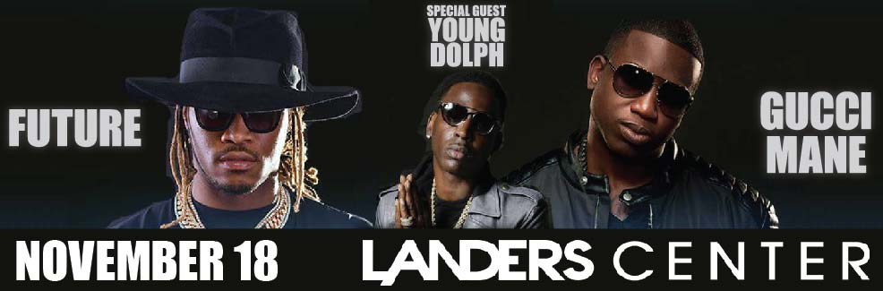 Trap Royalty Tour 2016- Future, Gucci Mane with Special Guest Young Dolph