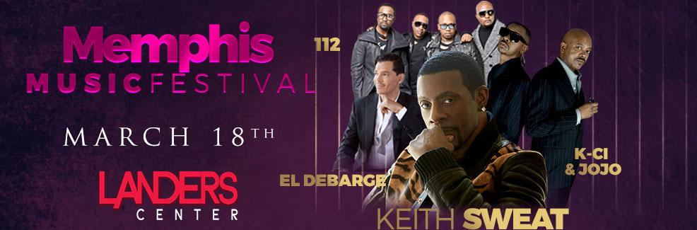 Memphis Music Festival: Keith Sweat