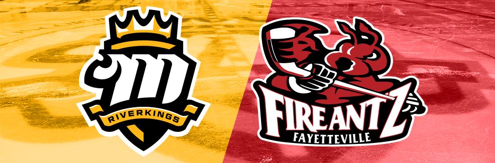 Fayetteville FireAntz vs. Mississippi RiverKings